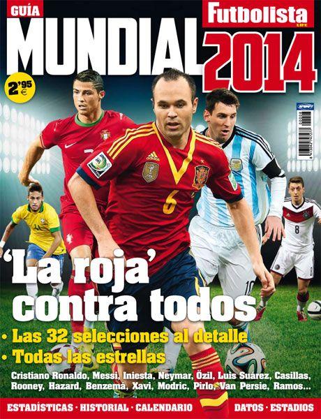 Brasil Mundial 2014 Guia de la revista Futbolista