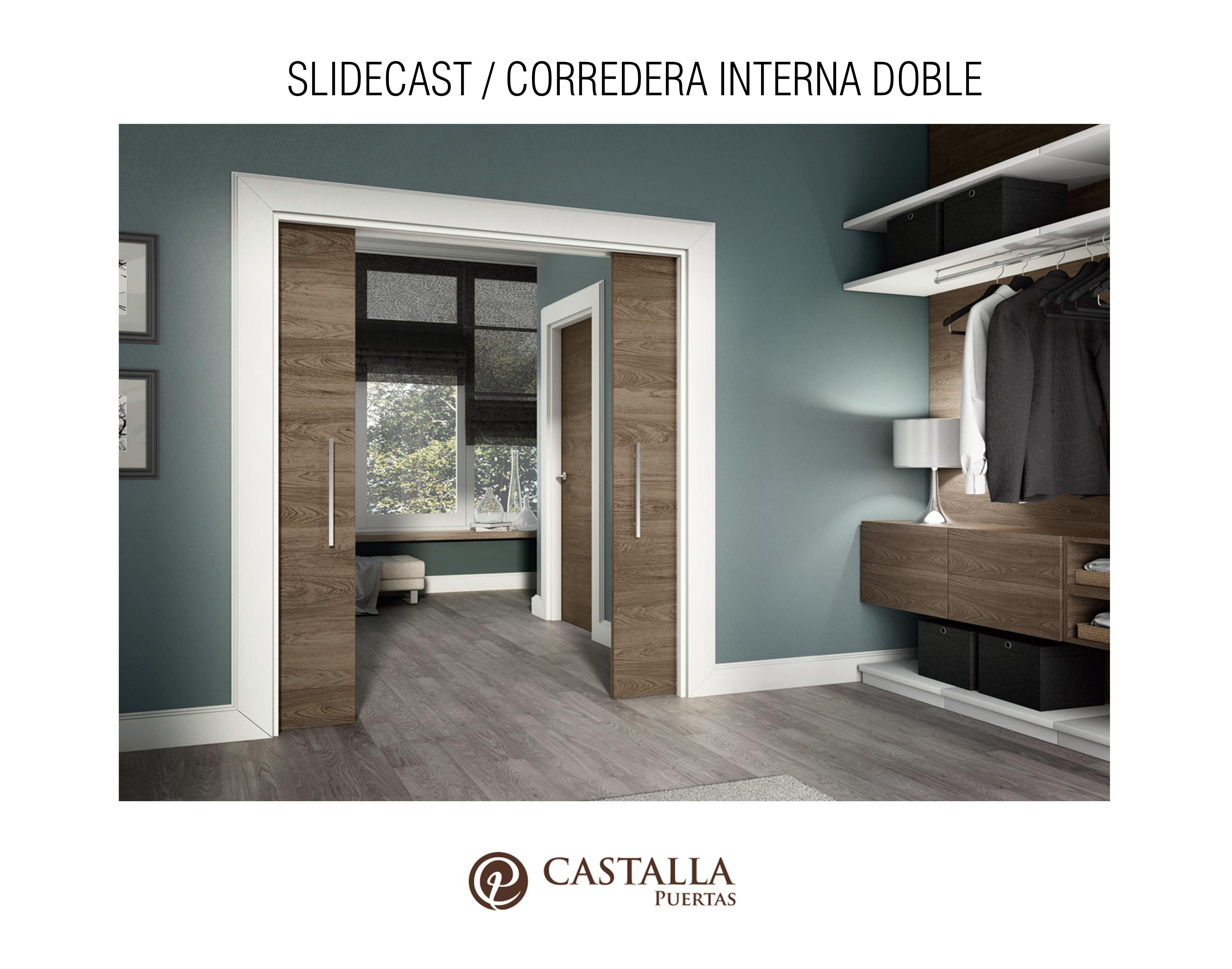 Puerta Corredera Interior Sistema Slidecast Puertas Correderas  ~ Puertas Correderas Interior Rusticas