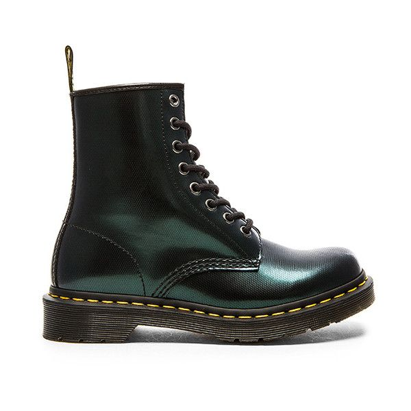 Dr. Martens 8 Eye Boot Shoes (500 BRL) ❤ liked on Polyvore featuring shoes, boots, ankle booties, ankle boots, dr martens boots, bootie boots, laced ankle boots, leather upper boots and laced up booties