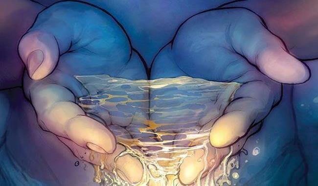 Resultado de imagen de imagenes agua entre las manos