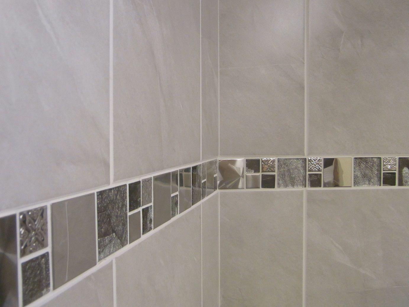 1030m2 Travertine Effect Grey Ceramic Bathroom Wall Tile Deal Inc Borders Bathroom Wall Tile Grey Bathroom Wall Tiles Tile Bathroom