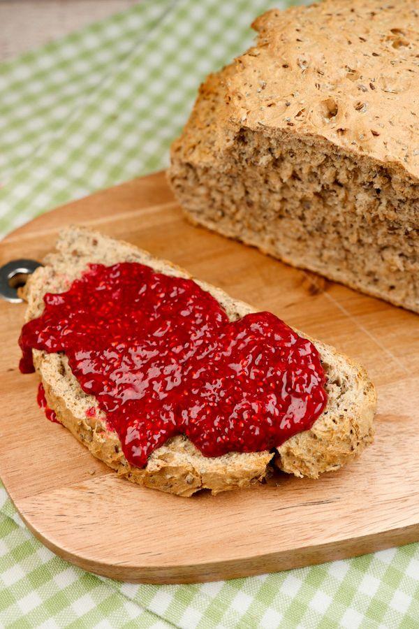 Rezept für Chia-Marmelade mit Himbeeren - Gaumenfreundin.de Foodblog