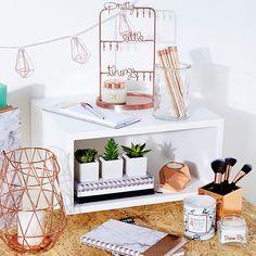 Primark Stationery Marble Copper Primarket Study School Interiors 2016 Idee Deco Chambre Decoration Chambre Ado Deco Bureau