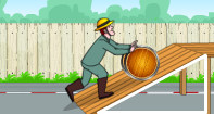 Simple Machines: What makes our work easier and quicker? You are right! It is a \'simple machine.\' An inclined plane is one of the simple machines. It helps us in many ways. Let us