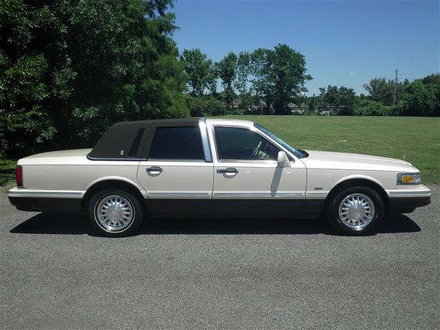 1996 Lincoln Town Car Cartier Concepts Prototypes Cars