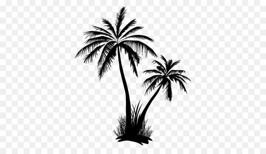 Arecaceae Tree Clip Art Coconut Tree Vector Unlimited Download Kisspng Com Palm Tree Silhouette Tree Art Tree