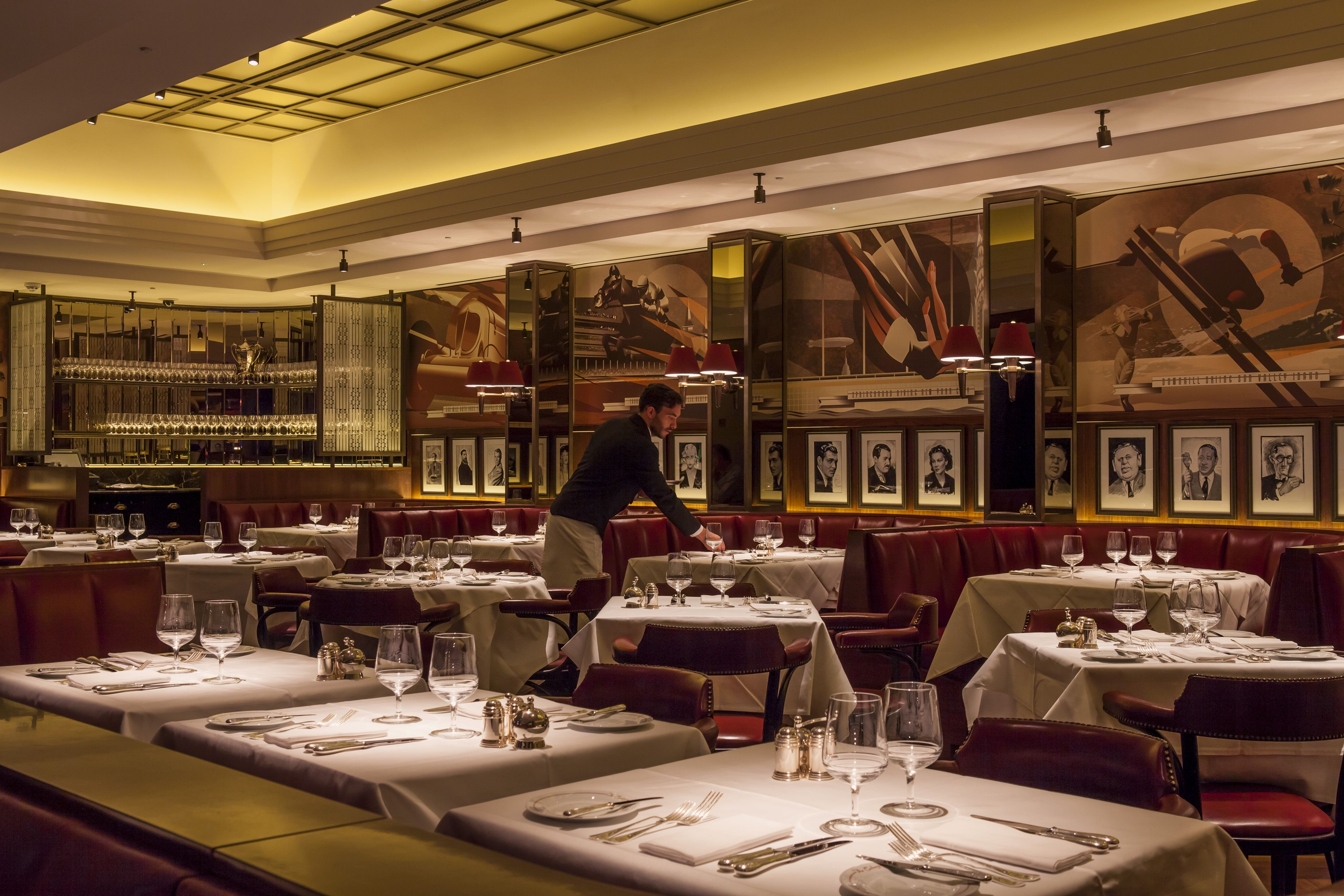 In the heart of the beaumont hotel lies the colony grill
