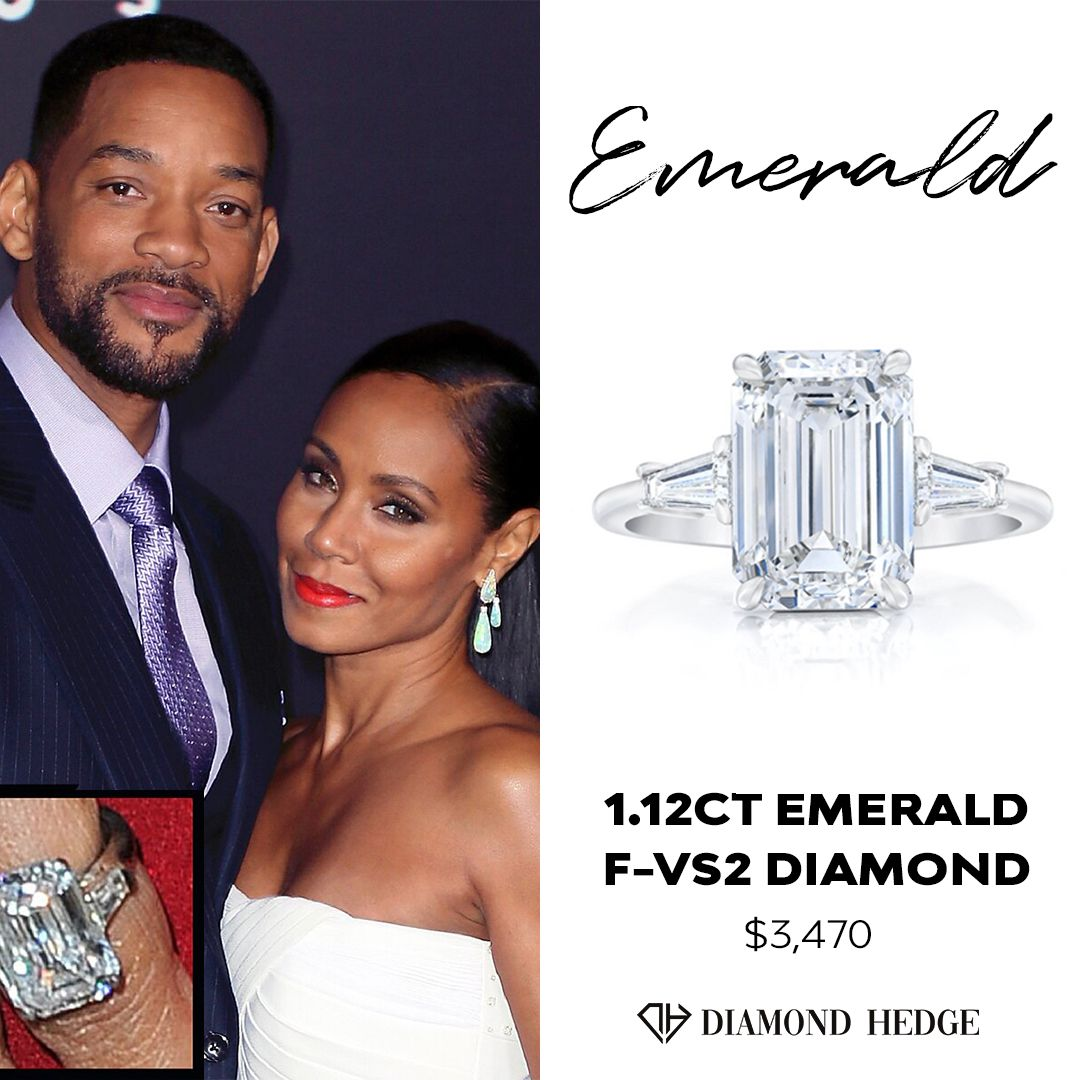 Get a similar diamond as Jada Pinkett Smith on DiamondHedge.com for a limited time!  #jadapinkettsmith #WillSmith 