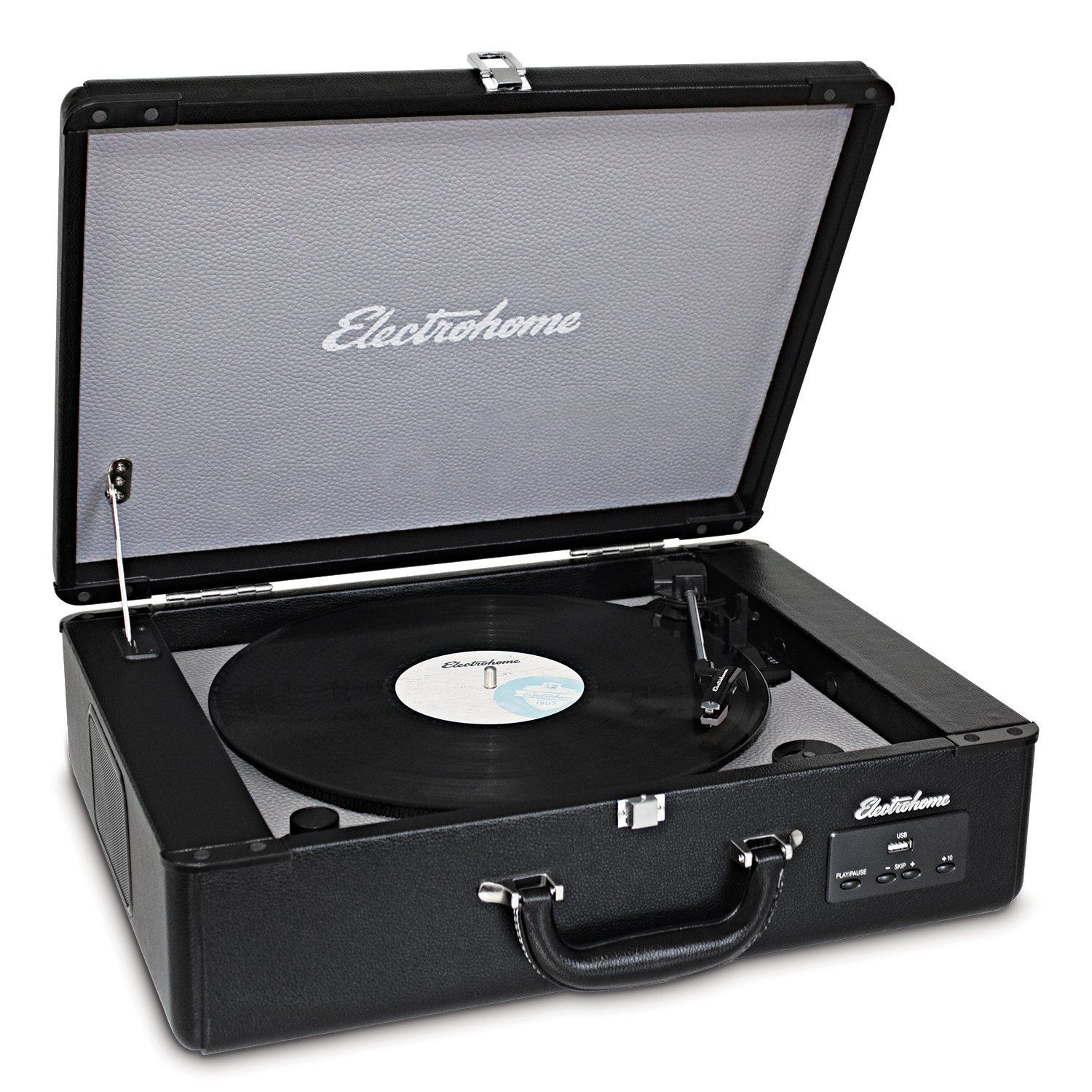 electrohome archer vinyl record player classic turntable stereo