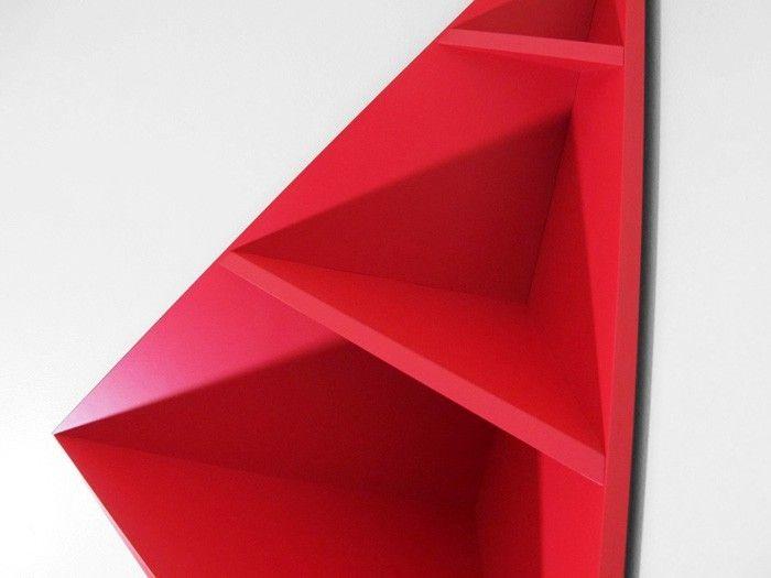 Eckregal Ikea Selber Bauen Holz Wohnzimmer Kreative Wandgestaltung Deko Ideen Diy Ideen25