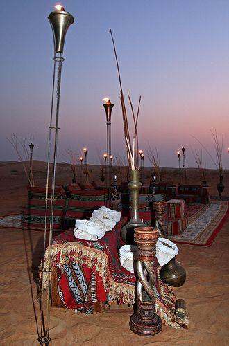 Small Desert Encampment, Dubai