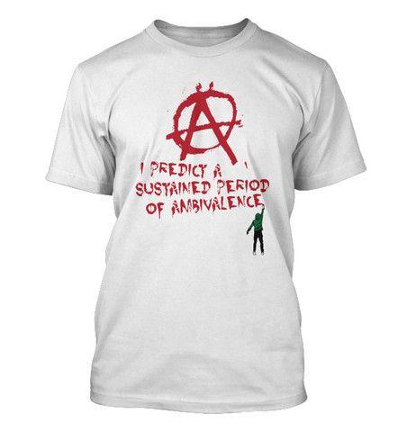 2036dbc7bd The Daily Mash Anarchy Mens White T Shirt | Clothes