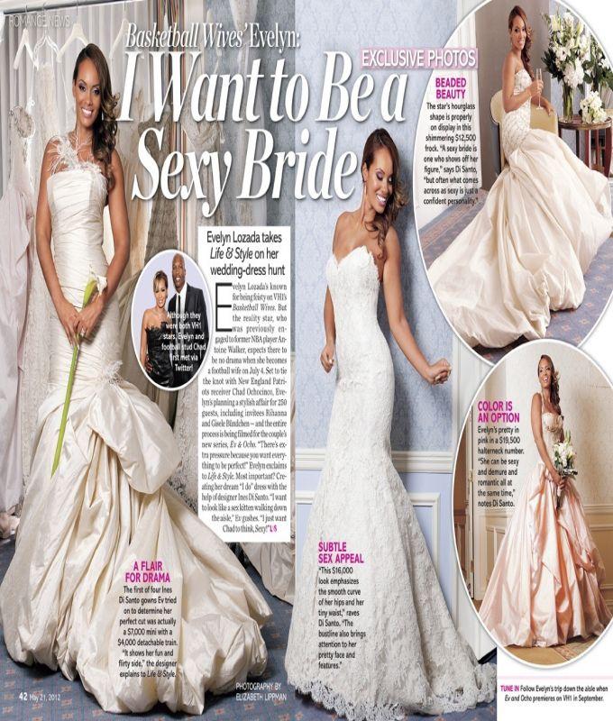 Evelyn Lozada First Wedding Dress Evelyn Lozada Wedding Dresses