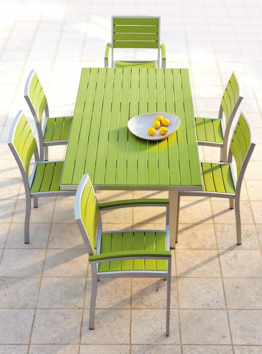 Polywood rectangle dining table recycled plastic outdoor furniture outdoor furniture furniture homedecorators com plasticpatiochairs