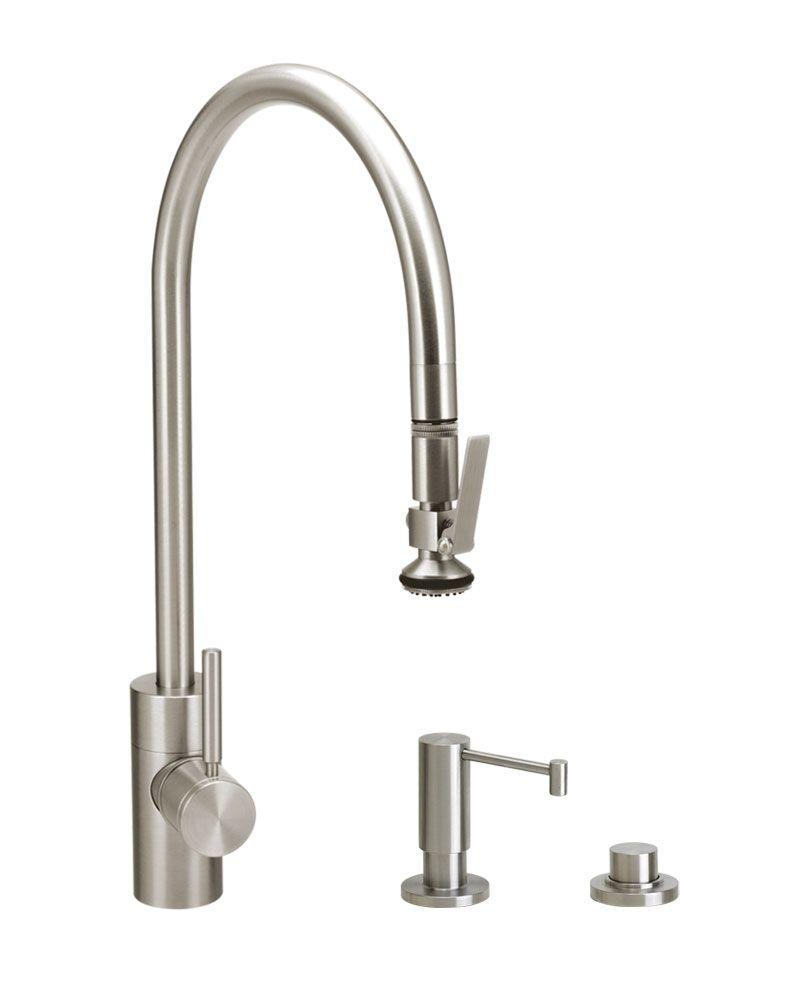 Contemporary Plp Extended Reach Pull Down Faucet 3pc Suite High Arc Kitchen Faucet Kitchen Faucet Faucet