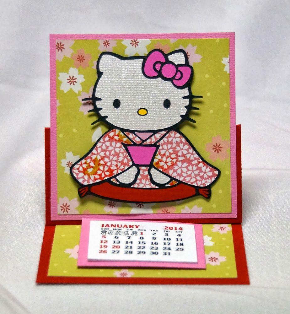 A star for chiemi easel calendar asian cards pinterest asian cards