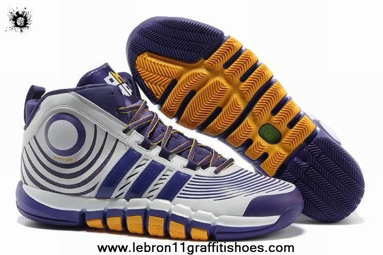 timeless design 61999 8ca77 ... Discount Adidas adiPower Howard 3 Club Purple White Yellow G22669 . ...