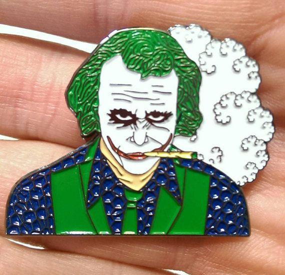 Joker Toker Hat Pin Hat Pins Custom Pins Punk Pins