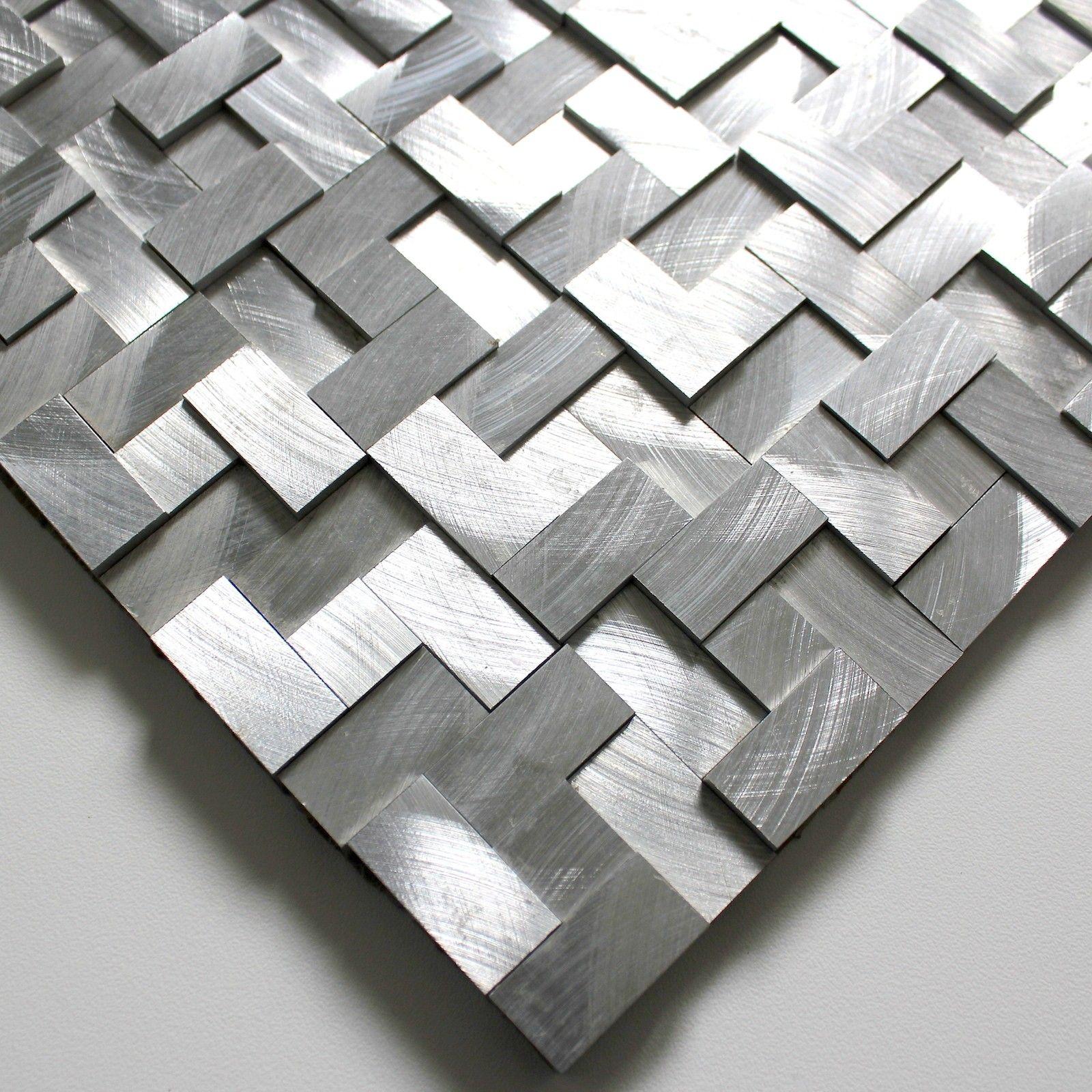 Plaque Mosaique Aluminium Carrelage Cuisine Credence Sekret Carrelage Inox Fr Credence Cuisine Carrelage Mosaique Carrelage Cuisine