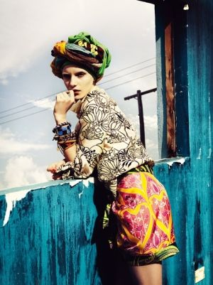 Editorial - Ethnic #Colorful