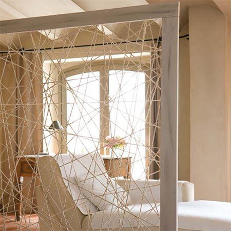 diy make modern room divider parition with timber wood frame and