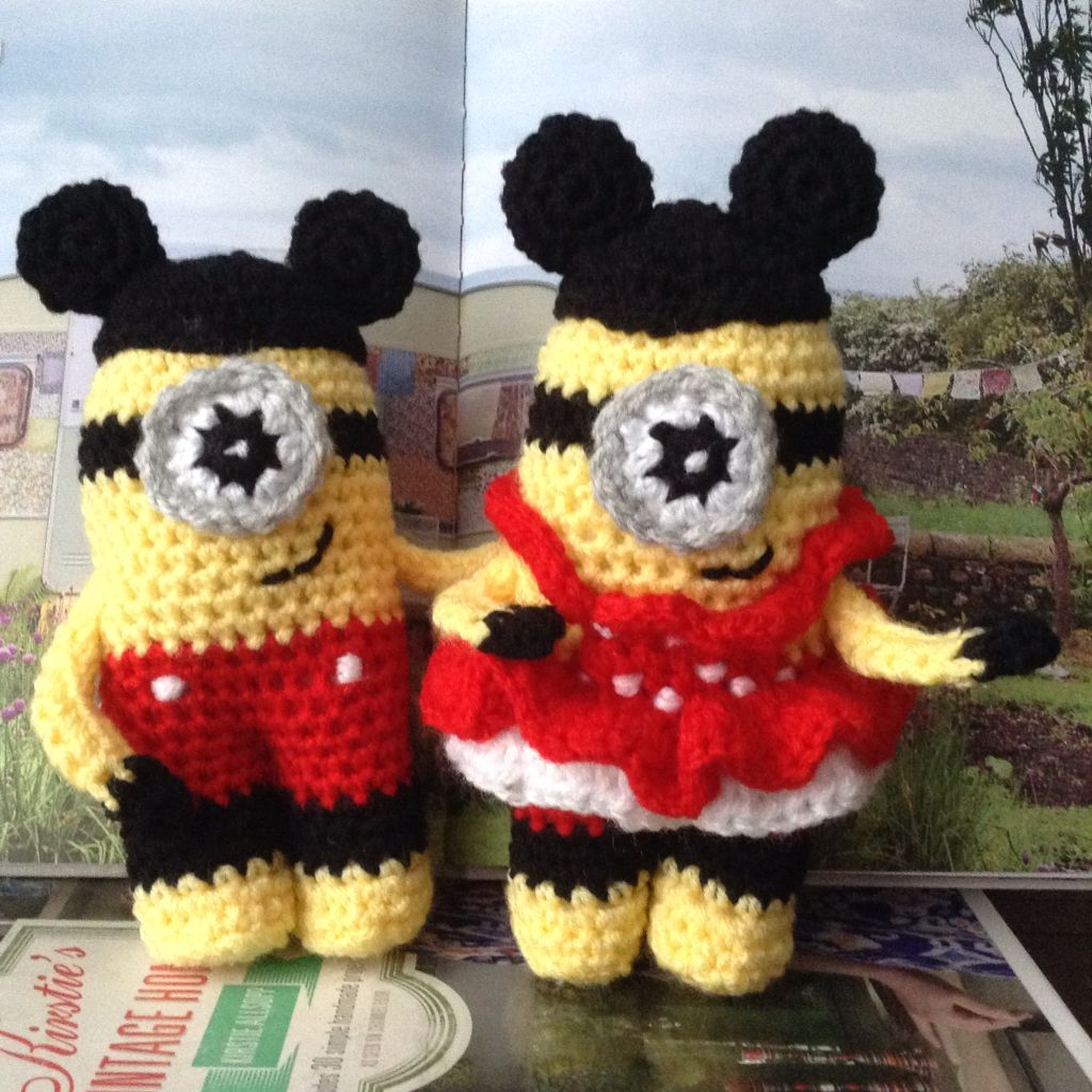 Dressed up as mickey and minnie mouse minions pinterest dressed up as mickey and minnie mouse bankloansurffo Choice Image