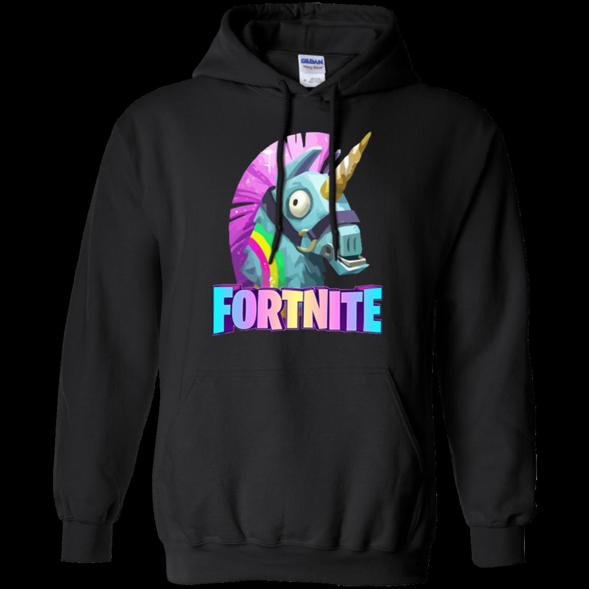 Funny Unicorn Fortnite Hoodie Shipping Worldwide