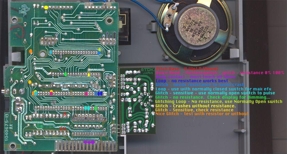 speak and math circuit bend schematic diy music electronics rh pinterest com
