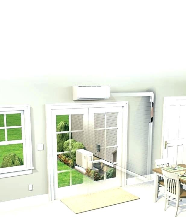 mini fujitsu ductless air conditioner leaking water split