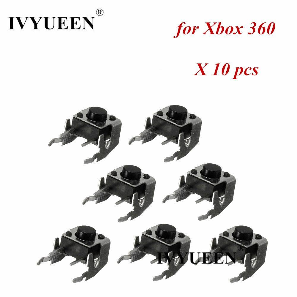 Ivyueen 10 pcs original rb lb bumper button switch repair