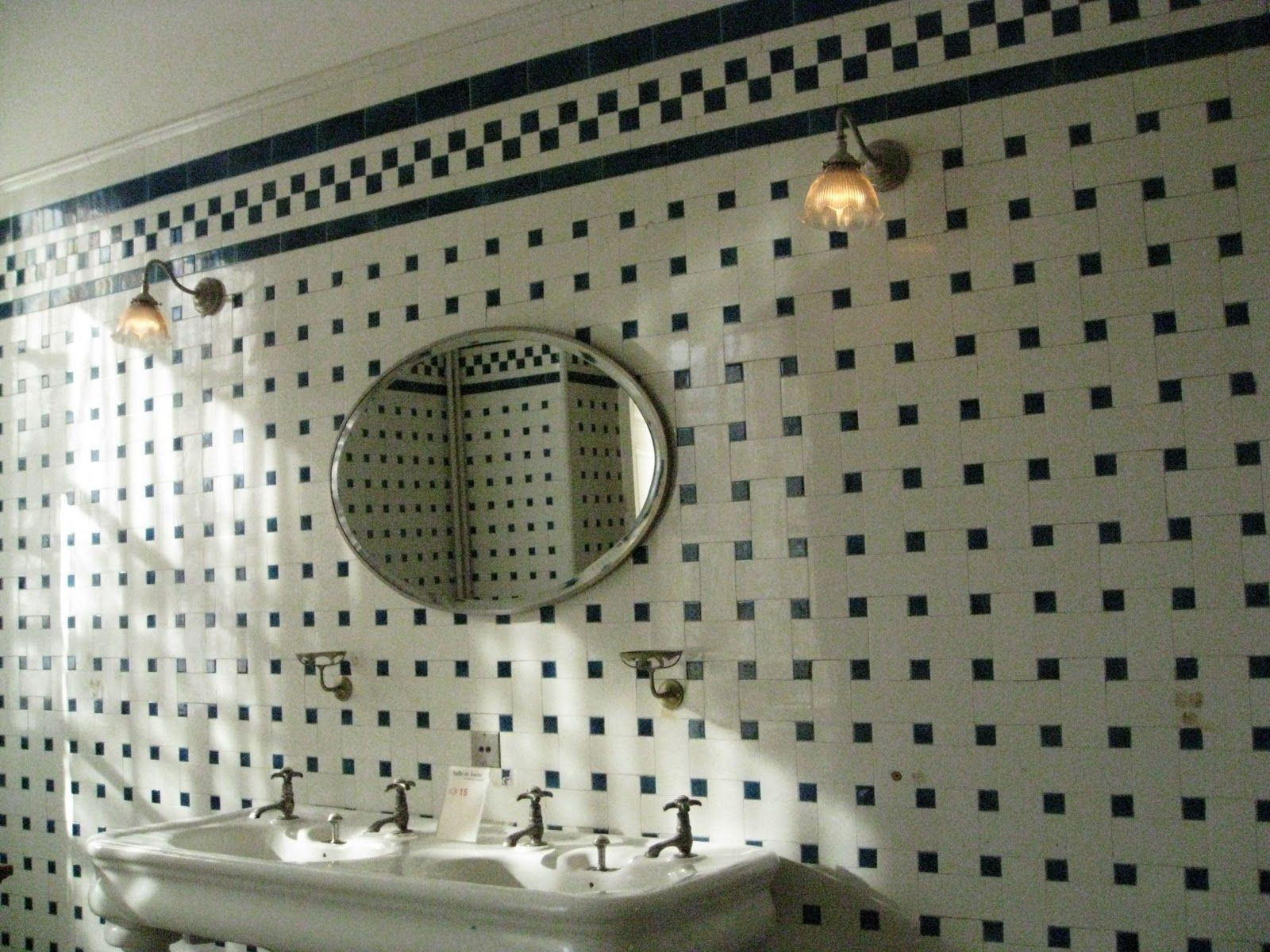 Salle de bains, Nissim de Camondo