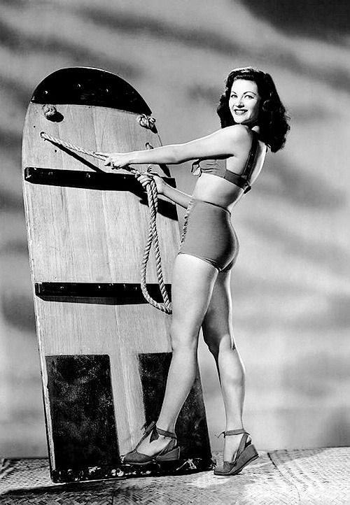 "9b29d524aa thisisnodream: ""Yvonne De Carlo, 1945. "" | Vintage Swimwear | Yvonne ..."