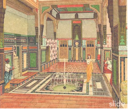 Ancient Egyptian Interior Architecture palatial/me'hei interior, sans color