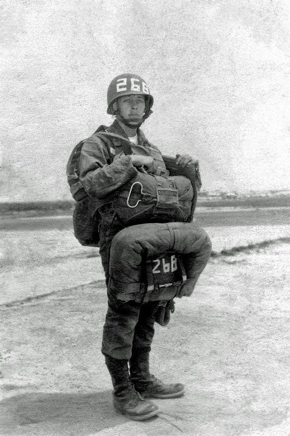 ARMY PARATROOPER 1941 Black and White Print 8 by DesertLifePhotos, $30.00~this is the era that my Grandfather served,I couldn't b more proud <3