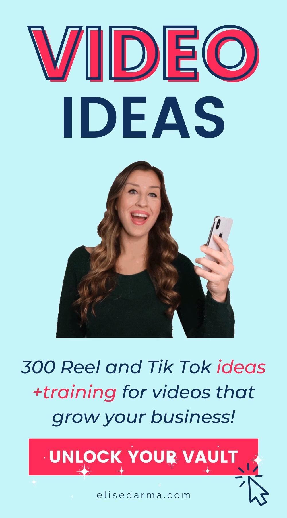 Get 300 Video Ideas For Reels And Tiktok Marketing Video In 2021 Instagram Marketing Tips Marketing Strategy Social Media Social Media Help