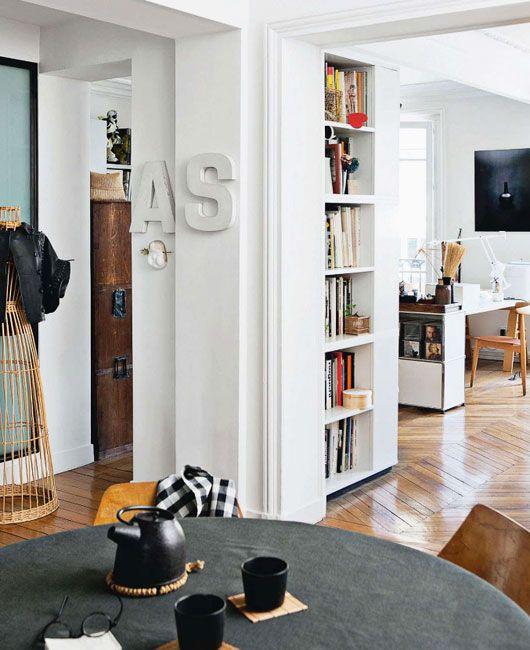 black & white paris abode. / sfgirlbybay