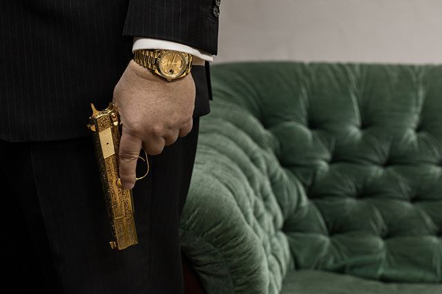 The Man With The Golden Gun Pallascapital Investmentbanker Ceo