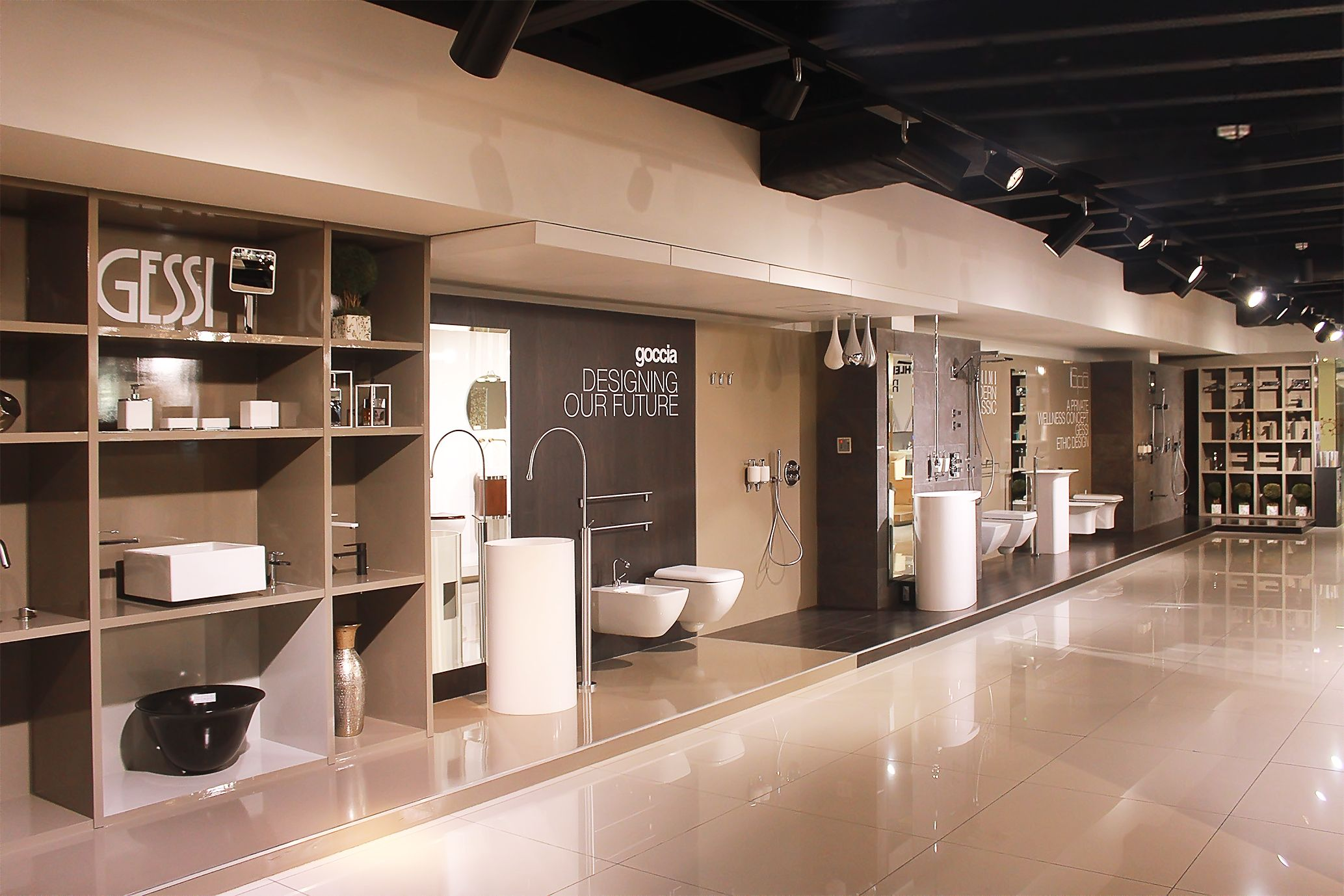 Best Gessi Showroom Display Bathroom Showrooms Kitchen 640 x 480