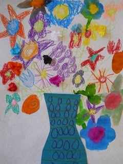 The Elementary Art Room! {Lois Ehlert Planting a Rainbow Gardern}
