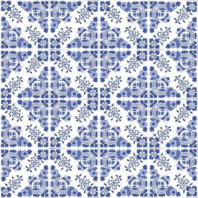9d25328ae Papel de Parede Azulejo Portugues 287689538