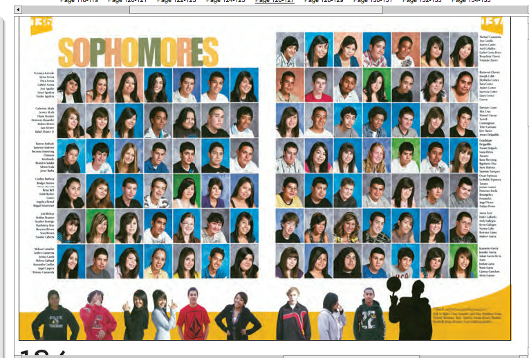 Classroom Yearbook Ideas ~ Like people across the bottom of page great idea to