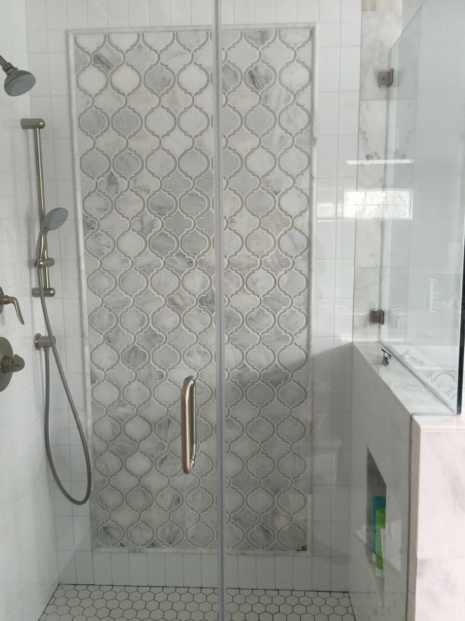 Beautiful marble bathrooms