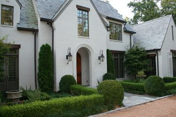 Mountain Brook Al Traditional Exterior Birmingham Troy Rhone Garden Design Painted