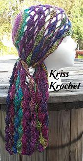 Ravelry: DeeAnne Head Wrap pattern by Kriss Krochet