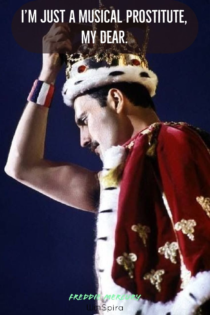 23 best Freddie Mercury Quotes - Winspira  Thank you for giving us a chance to serve you. ♥️♥️