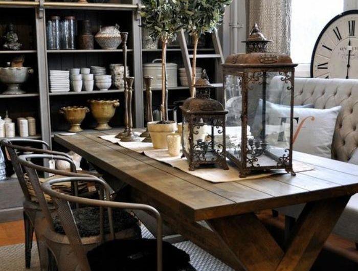 L\u0027aménagement d\u0027une salle à manger style industriel en 48 photos