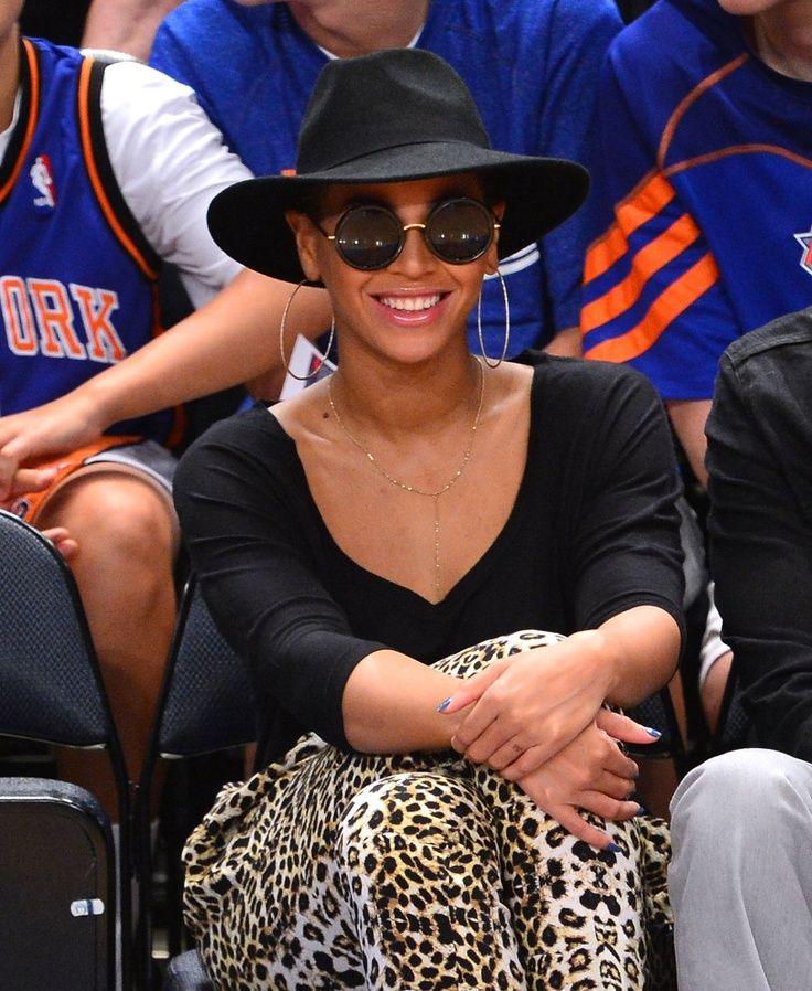 Beyonce, Black Fedora www.martinitomastectomy.com