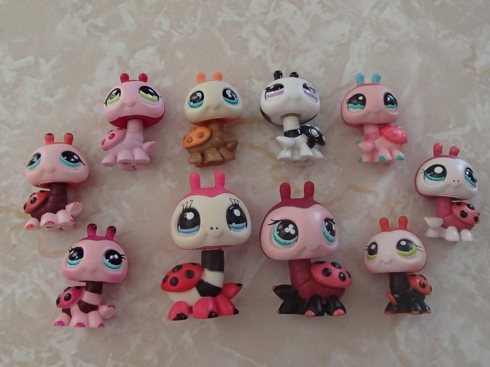 Littlest Pet Shop Rare Ladybugs Lady Bugs Including 2248 Huge Lot Lps Little Pet Shop Toys Lps Pets Littlest Pet Shop