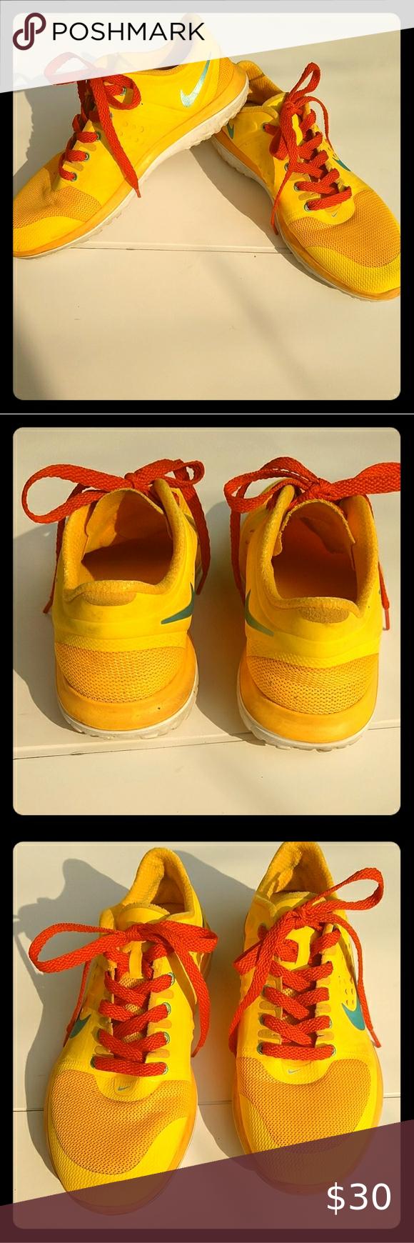 Nike Fitsole Orange Shoes Size 7 Orange Shoes Shoes Nike