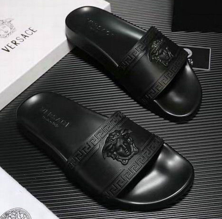 9cdf0cf8ae0b0 Versace Palazzo Medusa Slide Sandal Size 43  fashion  clothing  shoes   accessories  mensshoes  sandals (ebay link)